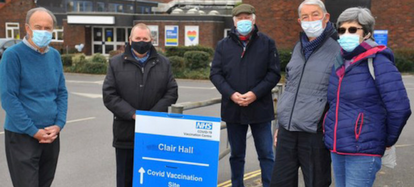 Dolphins PPG Haywards Heath – how we supported the vaccination role out in our community